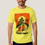 Kitsch Vintage 'Trick or Treat' Halloween Kids T Shirts
