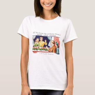 Kitsch Vintage We Missed You Sunday School T-Shirt