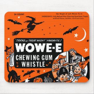 Kitsch Vintage Wowee Wax Gum Halloween Mouse Mat