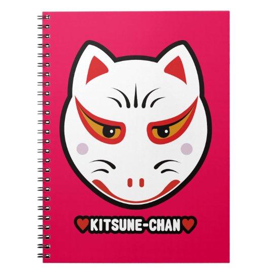 ♥Kitsune-Chan♥ Spiral Notebook