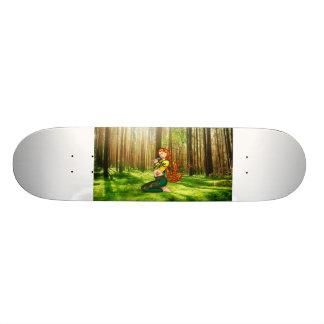 Kitsune Custom Skate Board