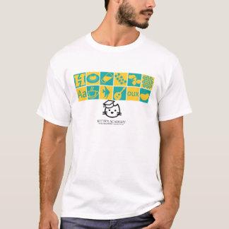 Kitten Academy Class Icons T-Shirt