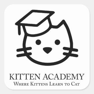 Kitten Academy - Kittens Learn To Cat Sticker