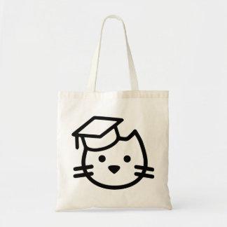 Kitten Academy Logo Tote Bag