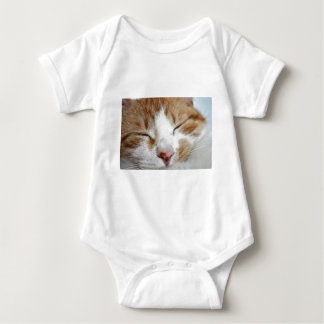 Kitten Afternoon Nap Photo Baby Bodysuit