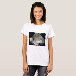 Kitten and Book T-Shirt