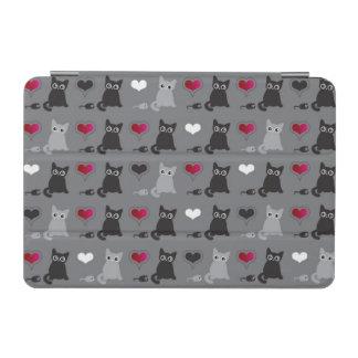 kitten and mice pattern iPad mini cover