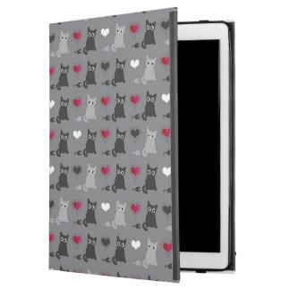 """kitten and mice pattern iPad pro 12.9"""" case"""