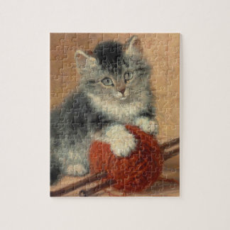Kitten and muffler puzzles