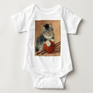 Kitten and muffler t-shirts
