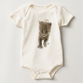 kitten baby bodysuit