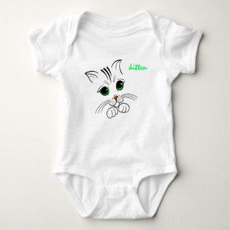Kitten bodystocking baby bodysuit