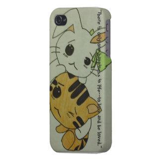 Kitten & Bunny iphone 4 case