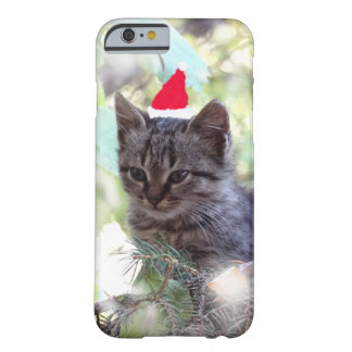 Kitten , Cat Christmas iPhone 6/6s, Barely There Barely There iPhone 6 Case