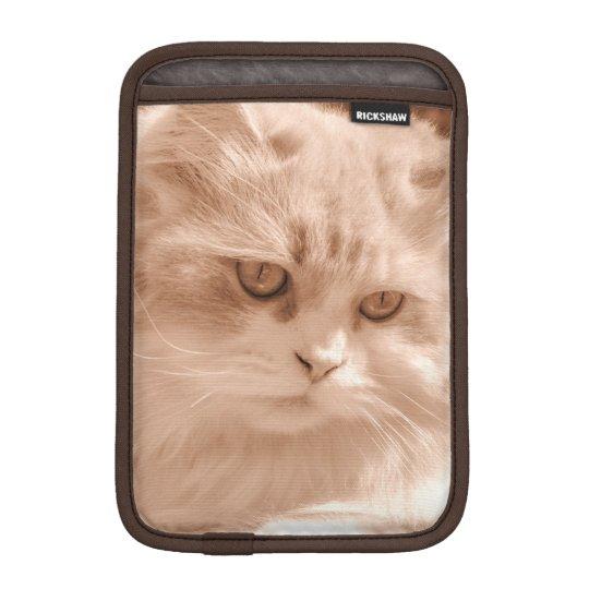 Kitten Cat Face, iPad Mini Vertical Sleeve