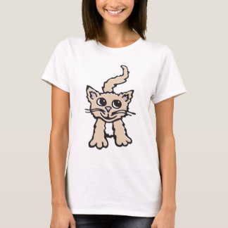 Kitten / cat graphic t-shirt