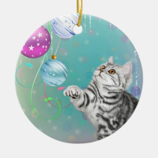 Kitten Christmas Christmas Ornament