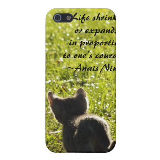 Kitten Courage iPhone 4 Speck case iPhone 5 Cases
