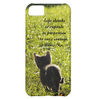 Kitten Courage iPhone 5 Case