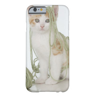 Kitten covered in yarn barely there iPhone 6 case