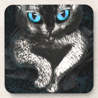 Kitten Cute Cat Pet Beverage Coaster