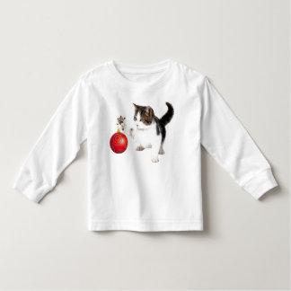 Kitten decorates your tree toddler T-Shirt