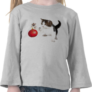 Kitten decorates your tree t shirt