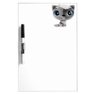 Kitten Dry-Erase Board
