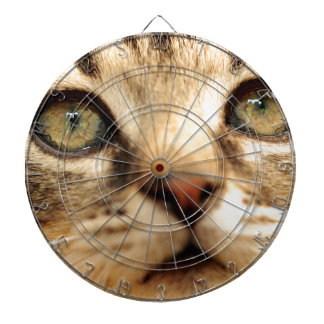 Kitten face dartboard