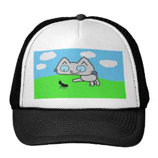 Kitten Following A Ant Trucker Hat