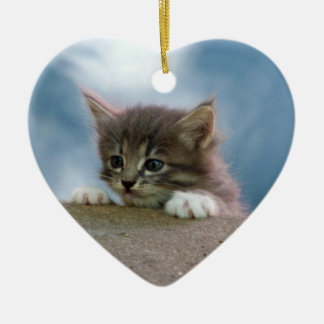 Kitten for Christmas Christmas Ornament