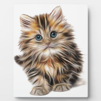 kitten fractal design range plaque
