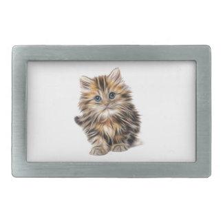 kitten fractal design range rectangular belt buckles