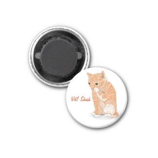 Kitten Fridge Magnet