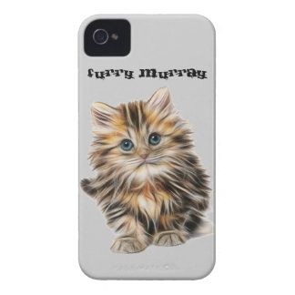 Kitten Furry Murray So Cute and Hairy iPhone 4 Case-Mate Cases