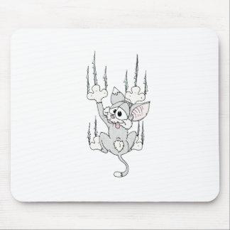 Kitten Hanging Around Mousepad