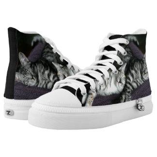 Kitten High Tops | Custom Photo High Tops Printed Shoes