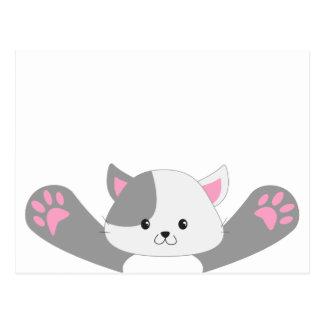 Kitten Hugs Postcard