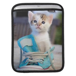 Kitten In A Shoe iPad Sleeve