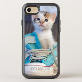 Kitten In A Shoe OtterBox Symmetry iPhone 8/7 Case