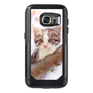 Kitten In A Tree OtterBox Samsung Galaxy S7 Case
