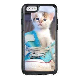 Kitten In Blue Shoe OtterBox iPhone 6/6s Case