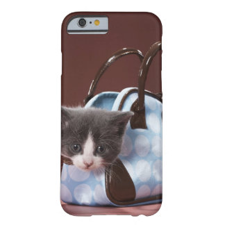 Kitten in handbag barely there iPhone 6 case