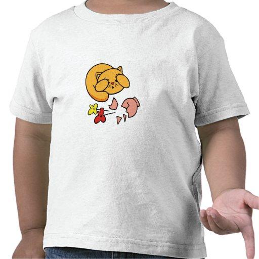 Kitten in Trouble Shirts