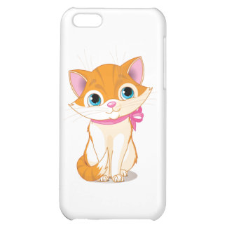 kitten cover for iPhone 5C