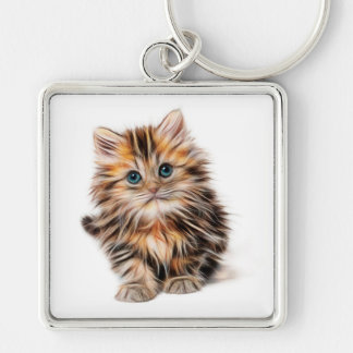 Kitten Key Ring
