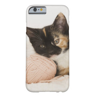 Kitten laying on ball of string barely there iPhone 6 case