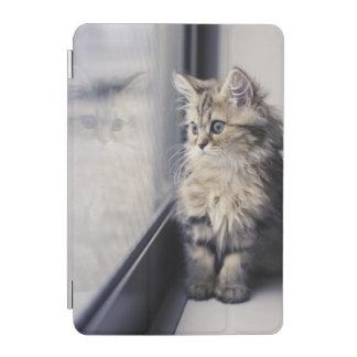 Kitten Looking Out Window iPad Mini Cover