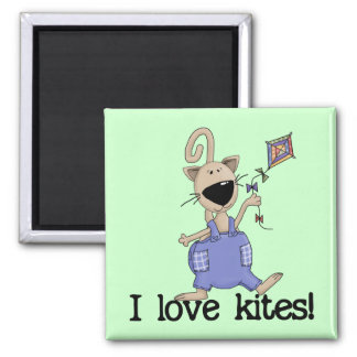 Kitten Love Kites Tshirts and Gifts Refrigerator Magnets