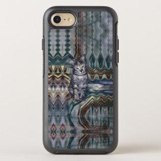 Kitten Matrix 50 Shades of Grey OtterBox Symmetry iPhone 8/7 Case